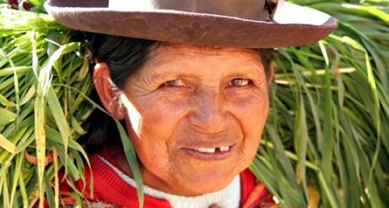Quechua kvinde den store rundrejse i peru