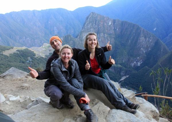 Vi gjorde det! Vi klarede 4 dages vandring til Machu Picchu!