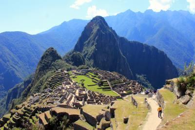 Inkastien til Machu Picchu